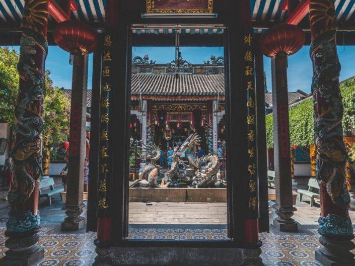 cantonese assembly hall entrance Hoi An, Vietnam