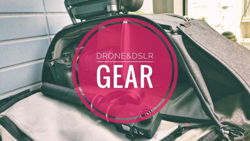My Drone & DSLR Gear