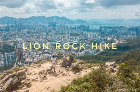 Lion Rock Hike, Hong Kong