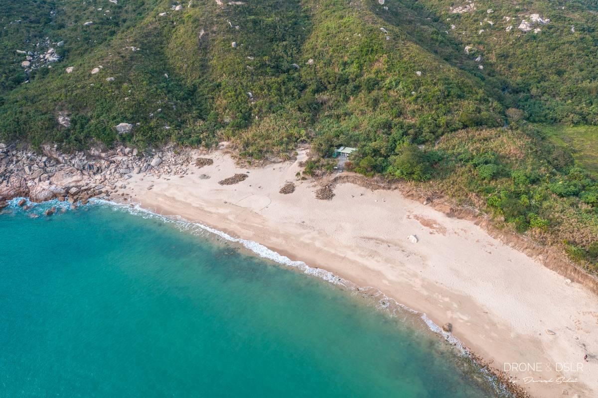 sham wan beach lamma island