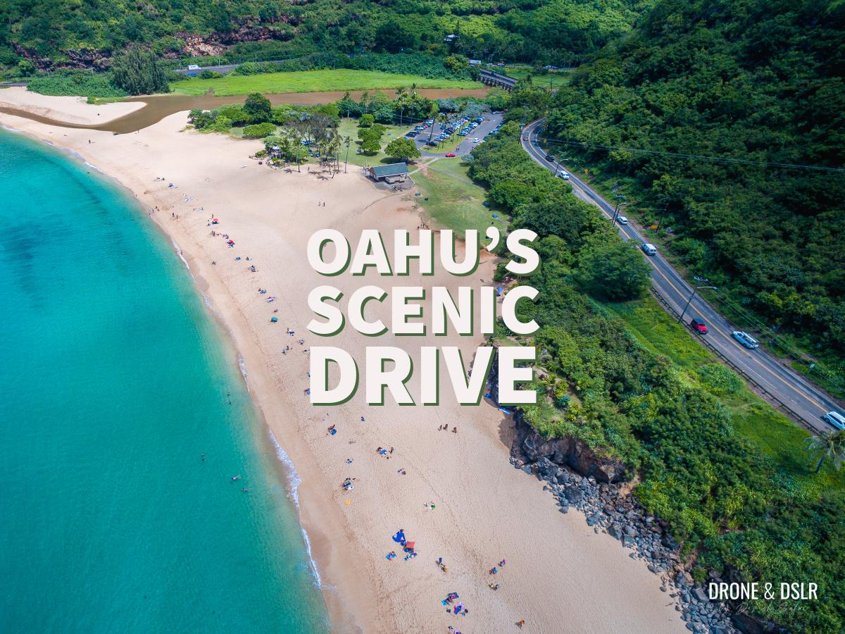 Driving Along Oahu's Scenic Coast