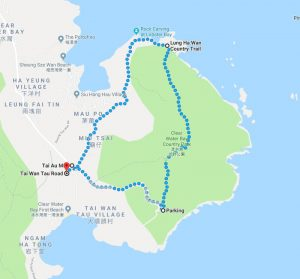 Lung Ha Wan Country Trail Map