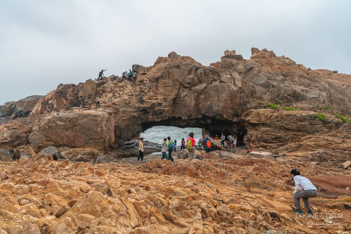 crab cave Cape D'Aguilar hong kong