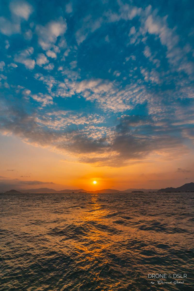Sunset at Instagram Pier, Hong Kong