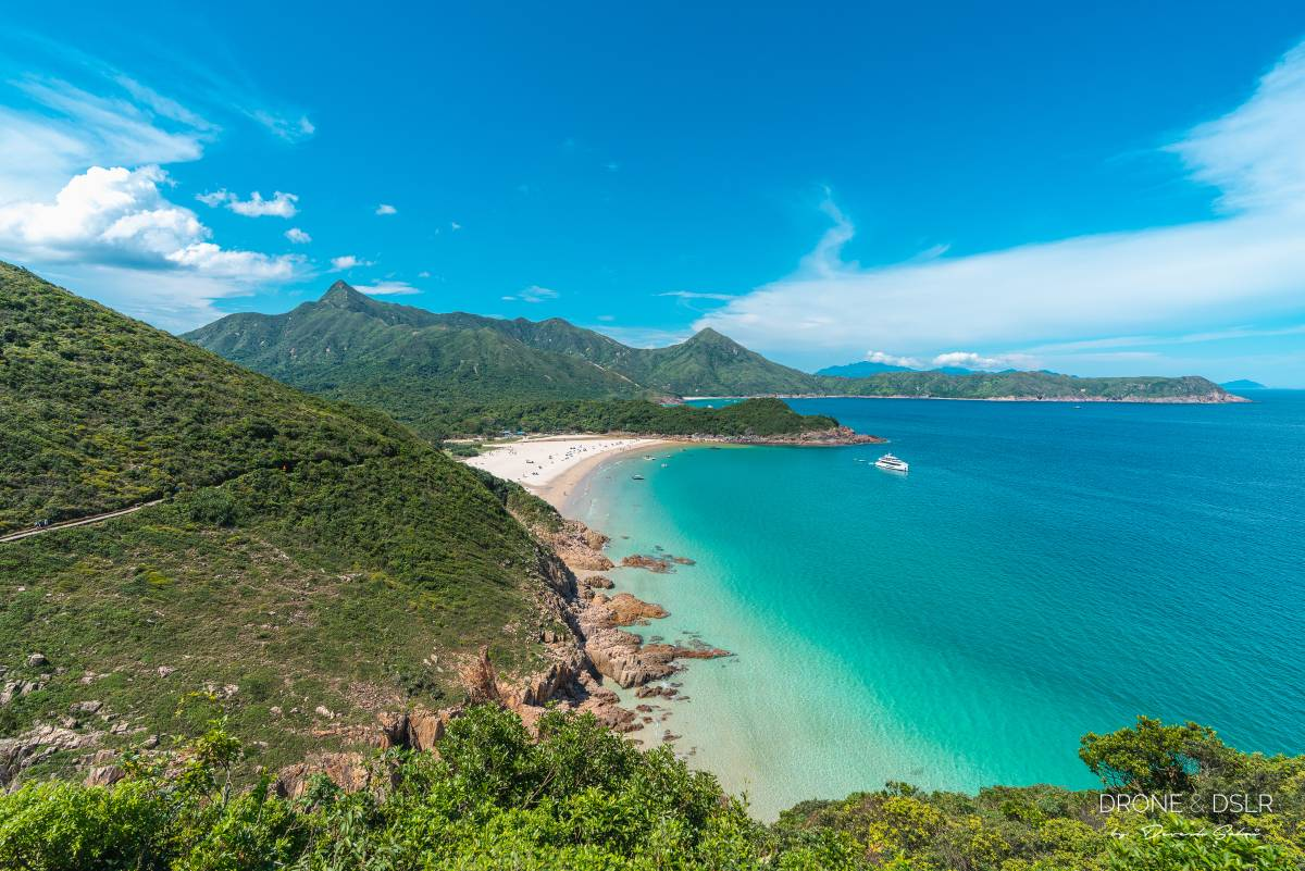 discover beautiful beaches in sai kung