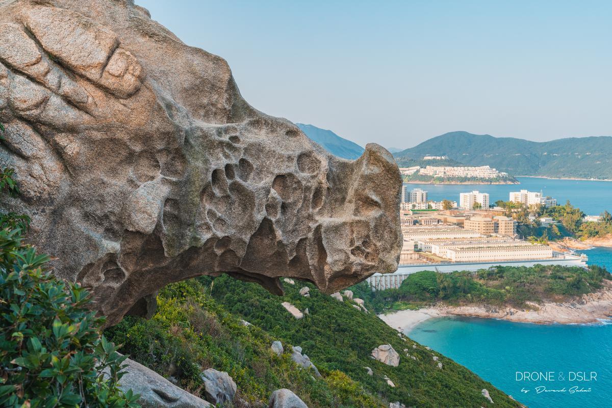 Rhino Rock in Stanley, Hong Kong