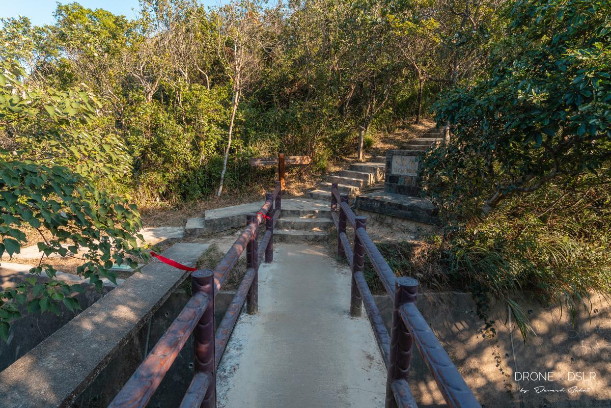 tze kong bridge twin peaks hike