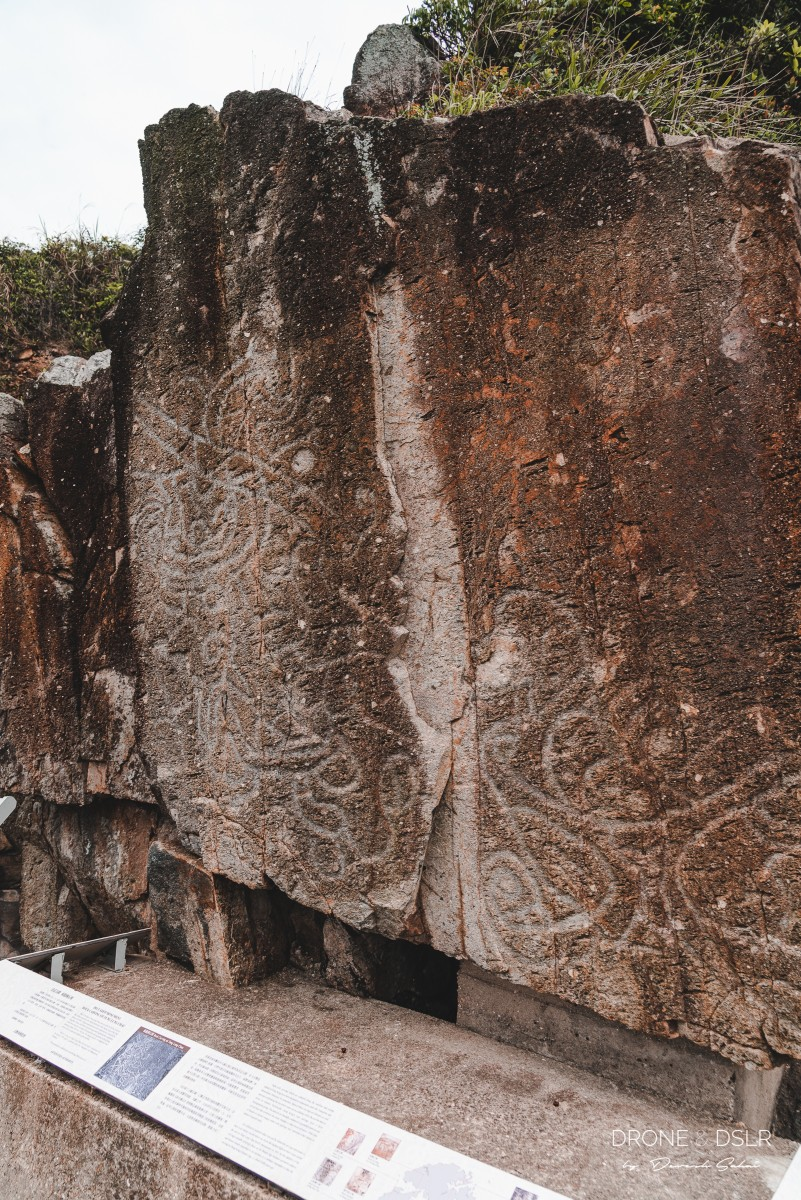 tung lung chau ancient rock carving
