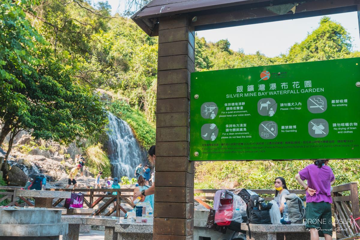 silver mine bay waterfall garden