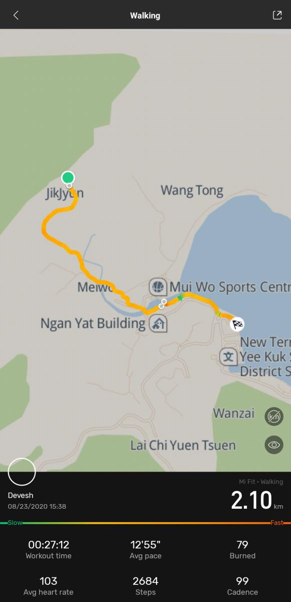 Silvermine Waterfall Walk map