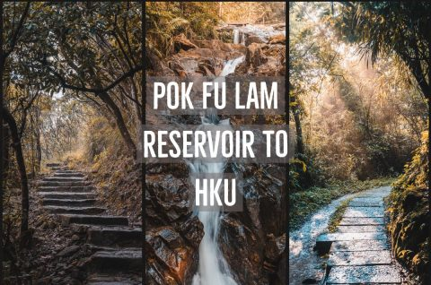 Pok Fu Lam Reservoir to HKU