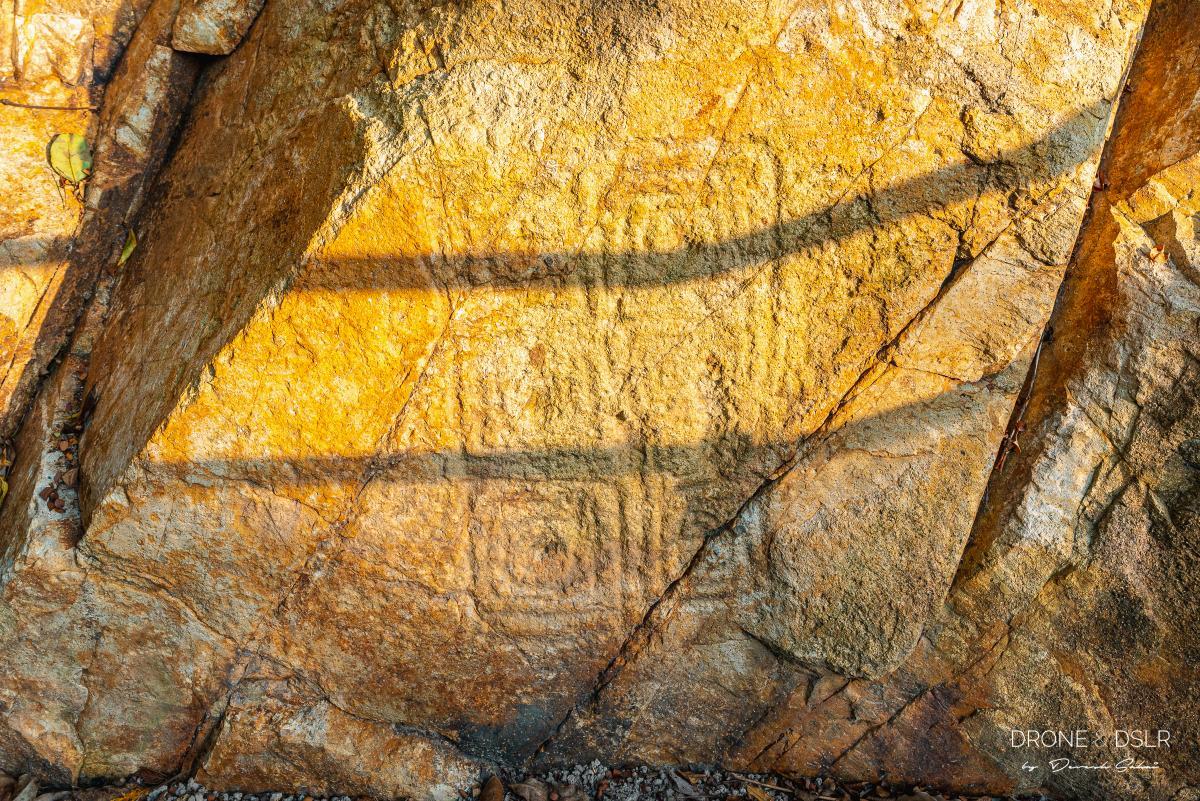 Shek Pik Rock Carving