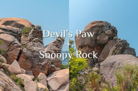 Devil's Paw (Devil's Claw) and Snoopy Rock
