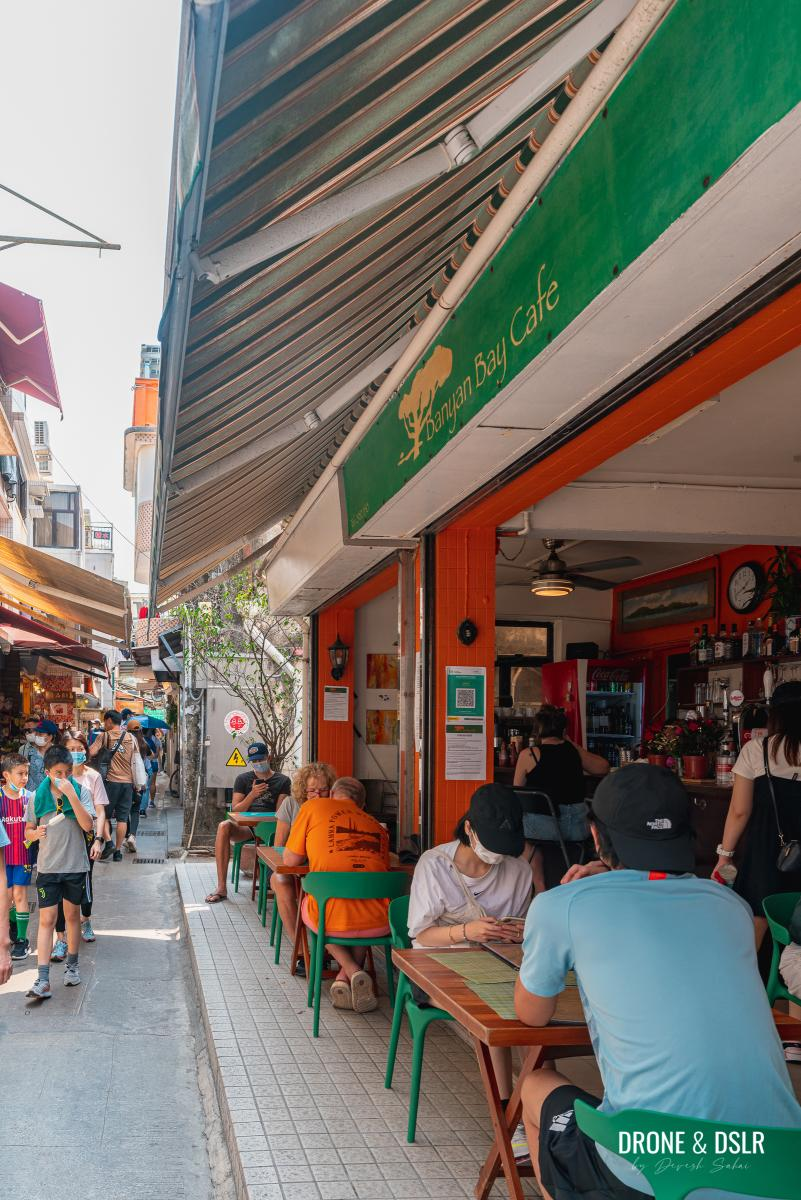 Banyan Bay Cafe, Yung Shue Wan